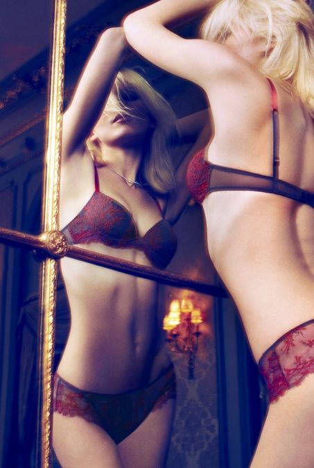 Lusty Lingerie Editorials