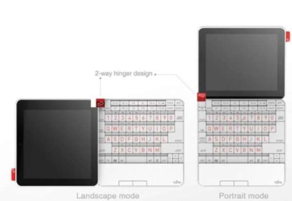 Shape-Shifting Laptop Concepts