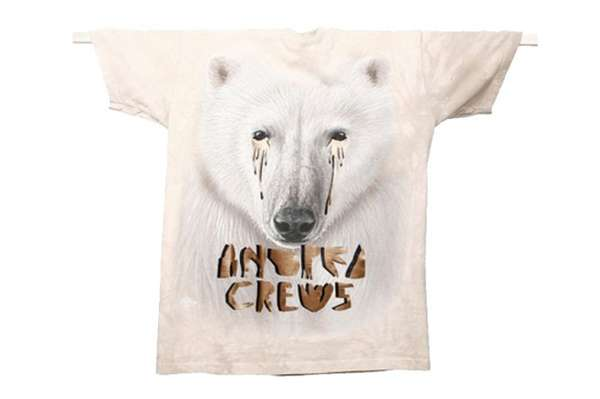 Andrea Crews Crying Animal T-Shirt