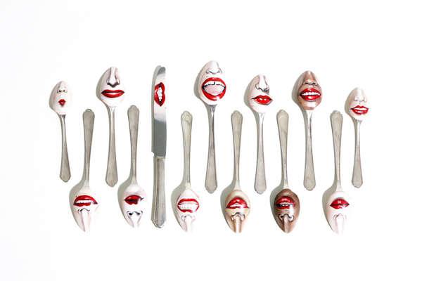Scandalous Body Part Spoons