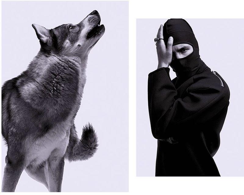 Animalistic Streetwear Photography