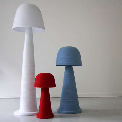 Nylon Toadstool Lights