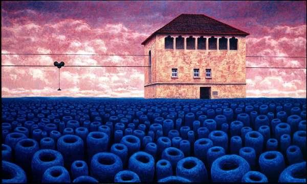Otherworldly Blue Fields