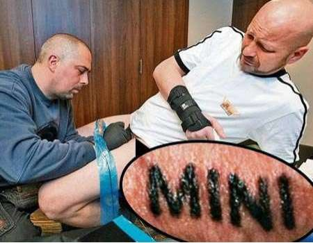 Intense Branding Tattoos