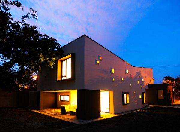 Rainbow Light-Speckled Homes