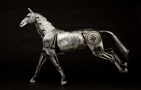 Steampunk Mechanical Horses