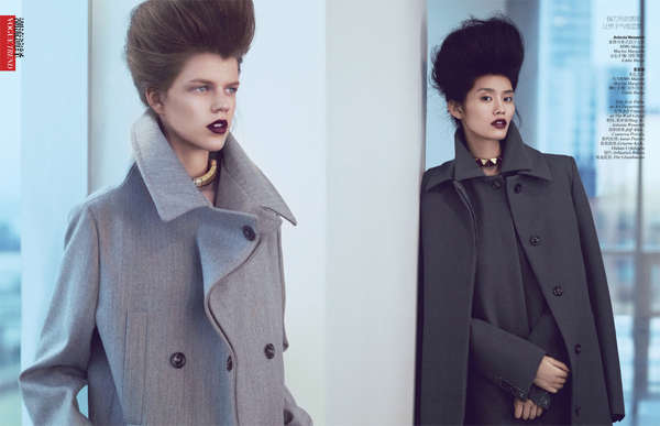 Bouffant Sibling Editorials