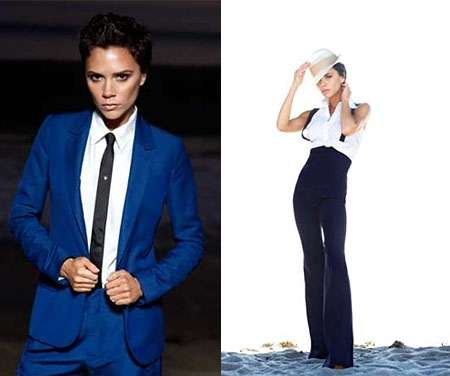 Androgynous Chic Suits