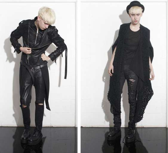 Androgynous Goth