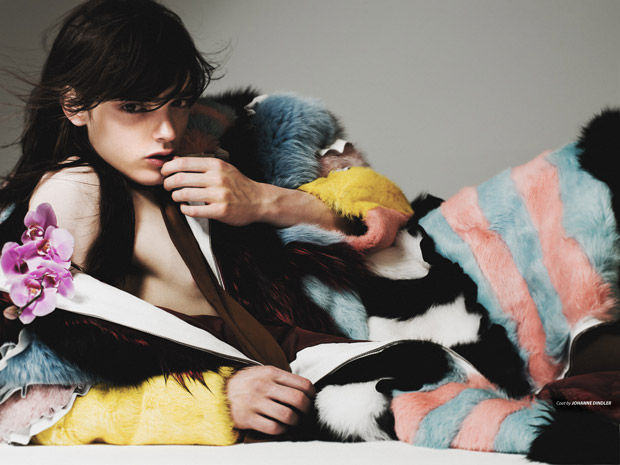 Androgynous Menswear Editorials