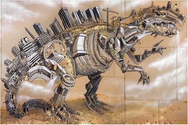 Downtown Dinocities