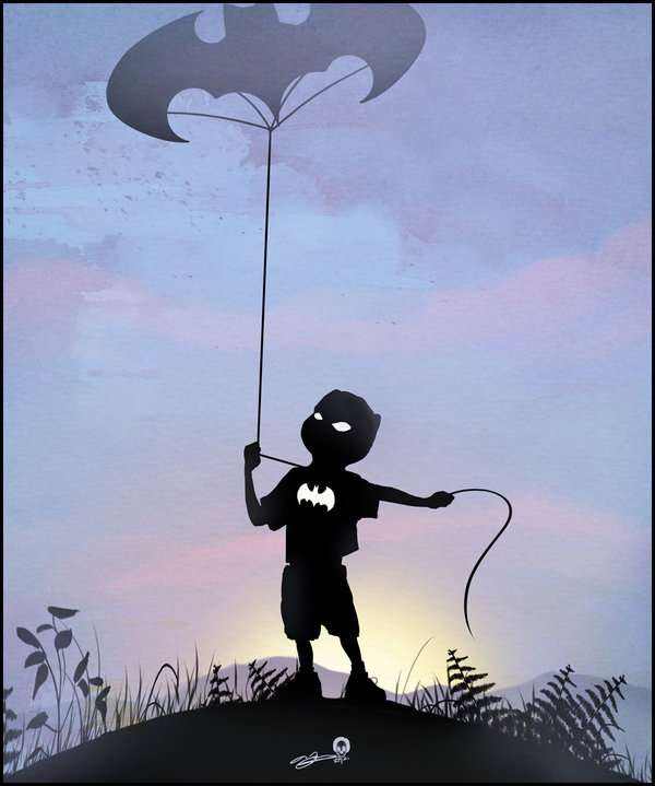 Caped Children Illustrations