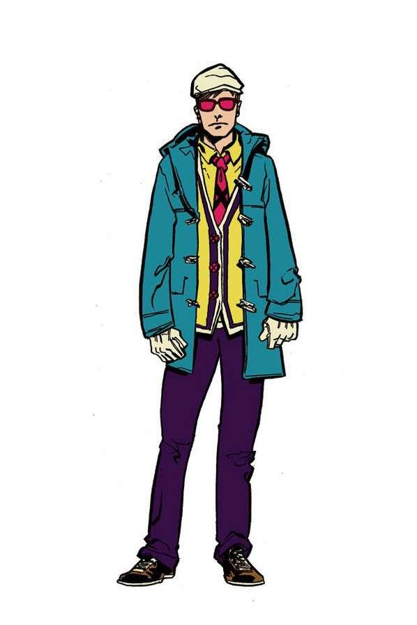 Chic Comic Fashion Illustrations