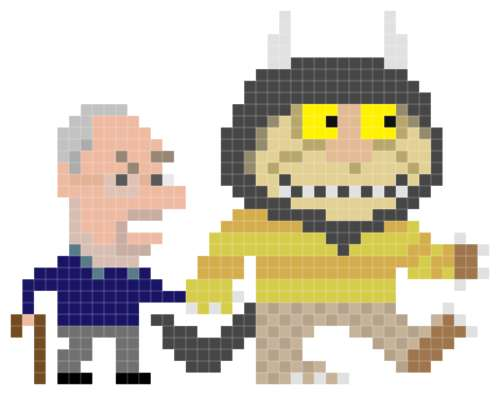Pixelated Posthumous Tributes