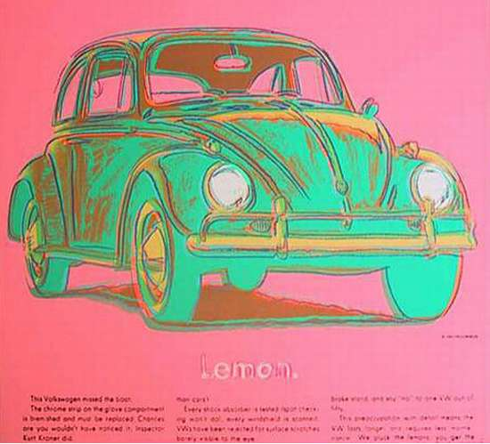 andy warhol car art