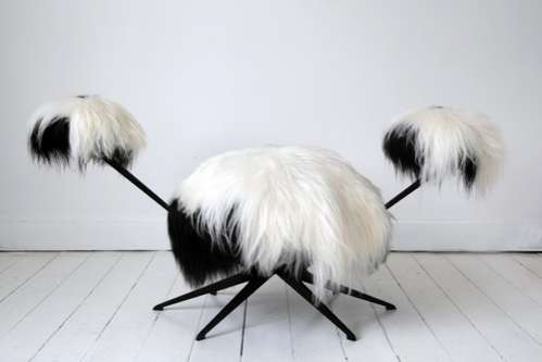 Hip Hairy Tribute Chairs