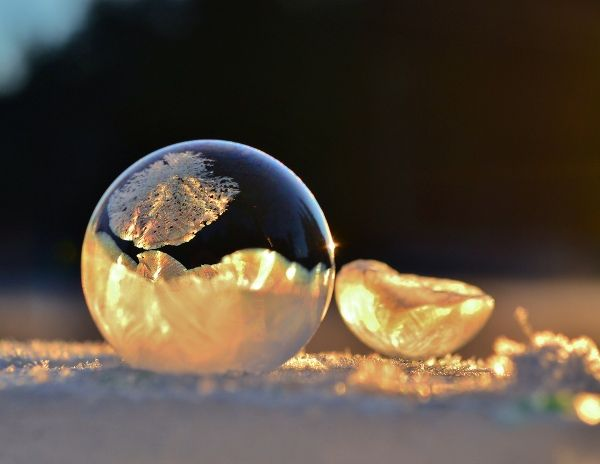 Delicate Bubble Photography