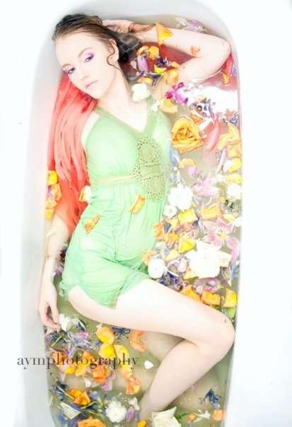 Colourful Flower Baths