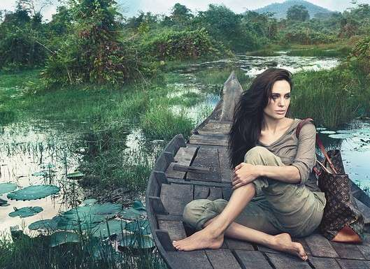 Angelina Jolie Louis Vuitton