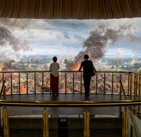 Panoramic Cambodian Museums
