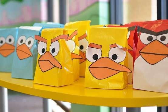 Comical Cartoon Loot Bags