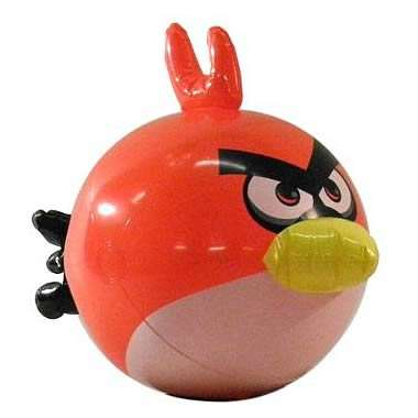 angry birds beach ball
