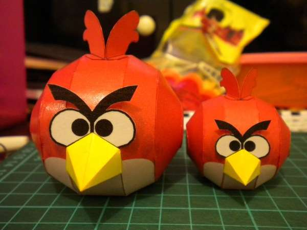 DIY Fiery Avian Models