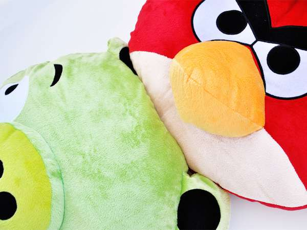 Raging Avian Cushions