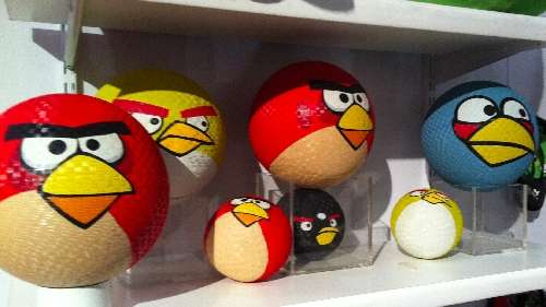 Angry Birds Rubber Ball
