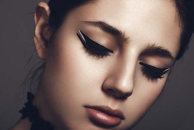 Angular Eyeliner Makeup