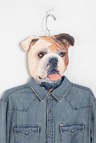 Pet-Adorned Hangers
