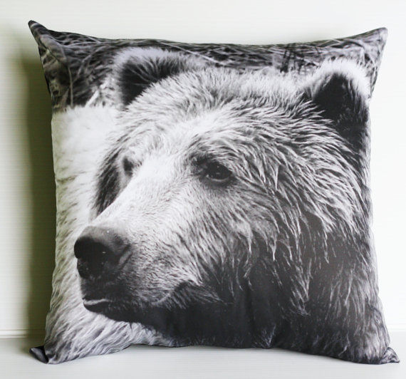 Photo-Printed Jungle Pillows