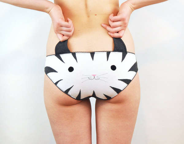 Animal Face Underwear