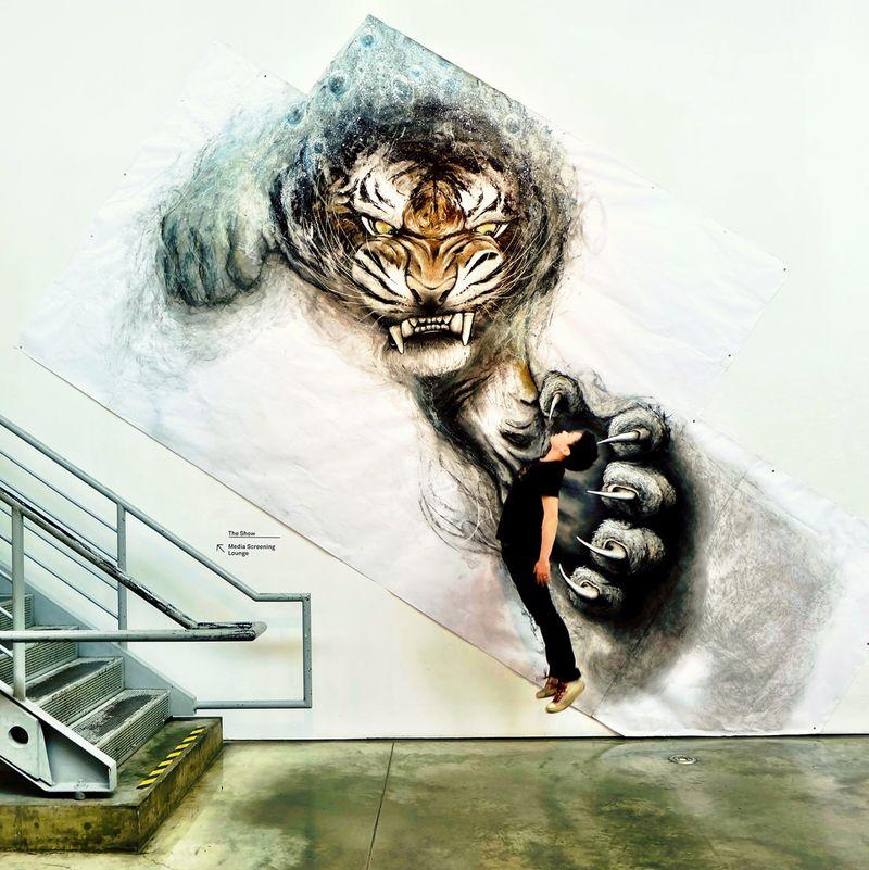 Captivating Animal Murals