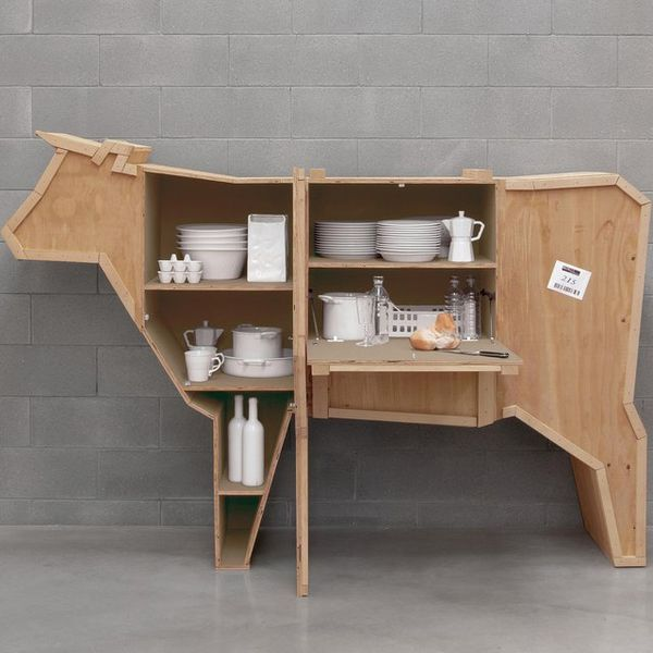 Quirky Barn Animal Shelves