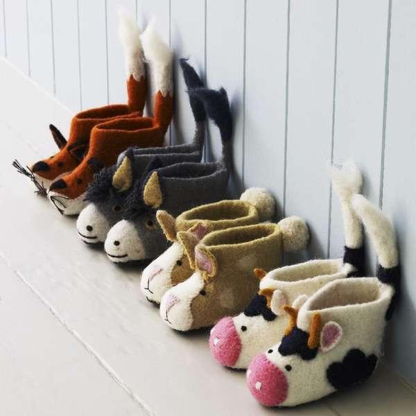 Cozy Critter Footwear