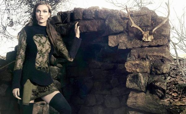 Dark Celtic-Like Fashion Ads