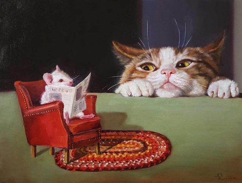 Humanized Animal Paintings