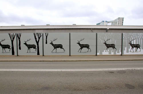 Spectacular Moving Murals