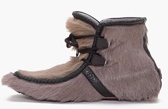 Furry Tribal Booties