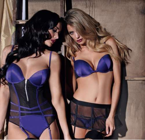 Vibrant Violet Lingerie 