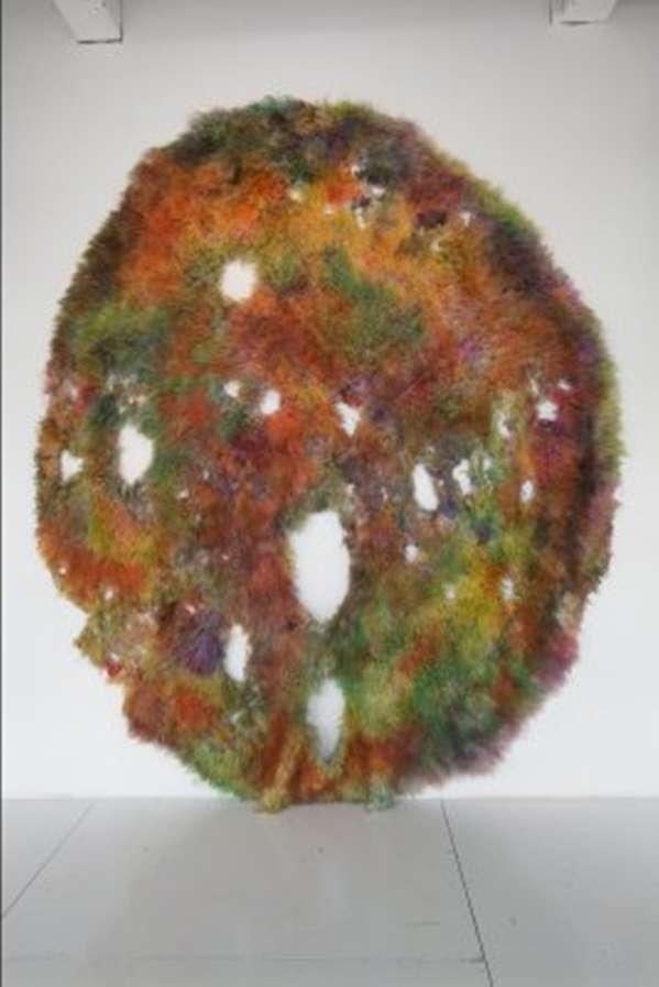 Rainbow Rug Art Sculptures