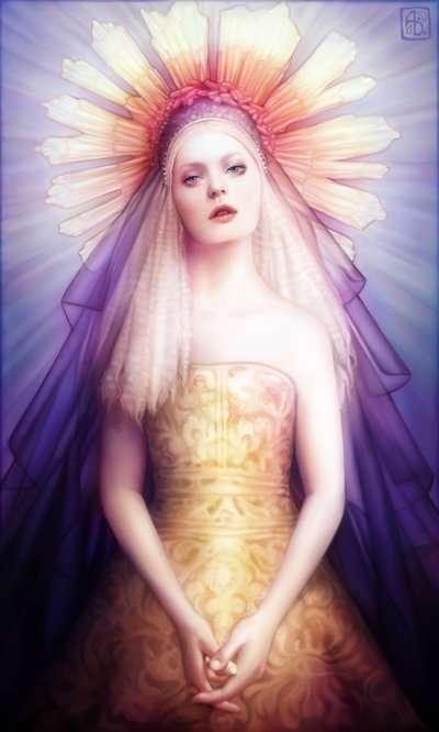 Angelic Airbrushed Females
