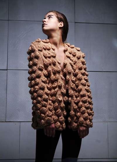 Chunky 3D Knitwear