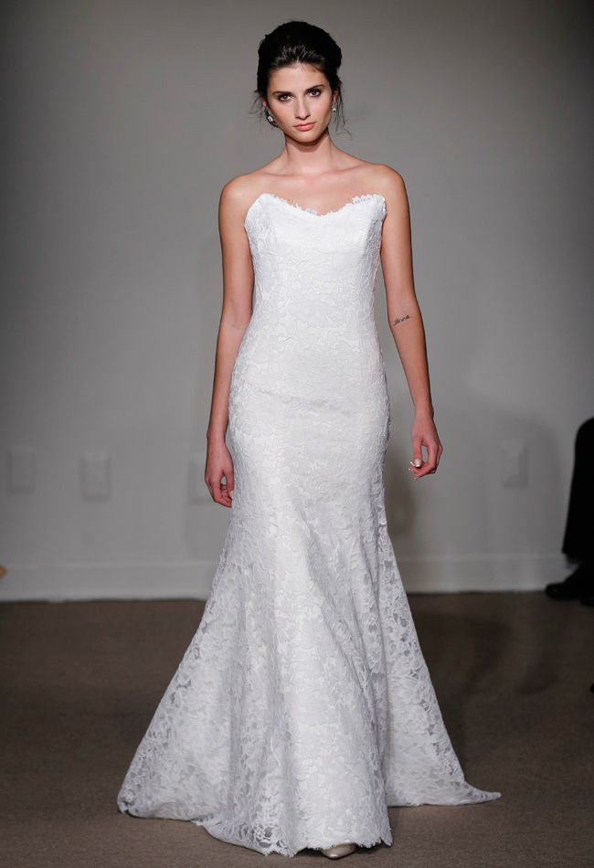 Minimalist Bridal Couture