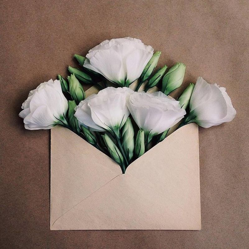 Floral Envelope Photography