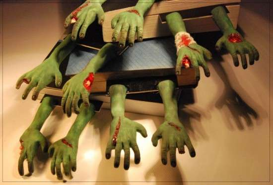 Zombie Appendage Bookmarks