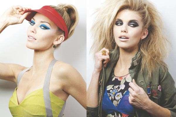 Vibrant Retro Fashion