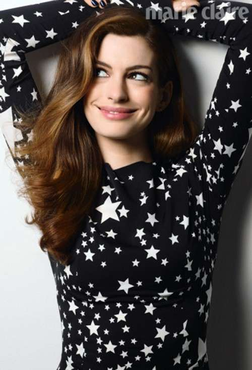 Anne Hathaway Marie Claire UK September 2011