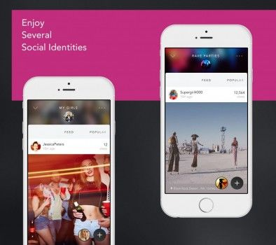 Multiple Persona Social Apps